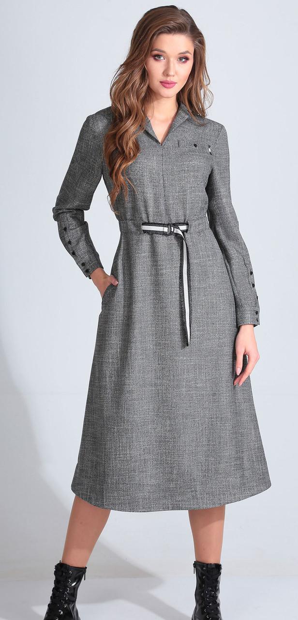 Платье Golden Valley-4640, серый, 44