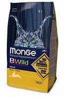 Monge Bwild Cat Hare, Монже корм для взрослых кошек с мясом зайца, уп. 1,5кг.