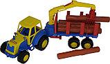 """""""Мастер"""", трактор с полуприцепом-лесовозом, фото 2"""