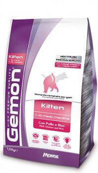 Gemon Kitten, сухой корм для котят с курицей и рисом, уп. 1,5кг.