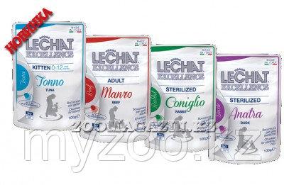 LeChat Fresh Excellence кусочки с уткой  Консервированный итальянский корм для кошек LeChat, обязательно приде