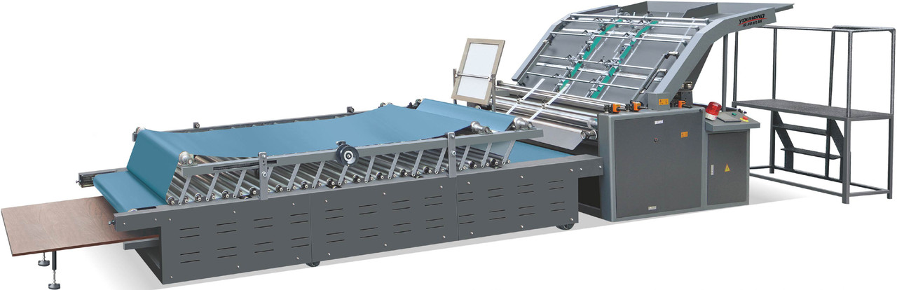 Полуавтоматическая кашировальная машина Youbond 1100B