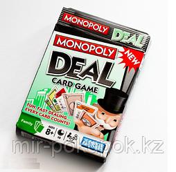 """Игра настольная карточная """"Сделка"""" (Monopoly deal)"""