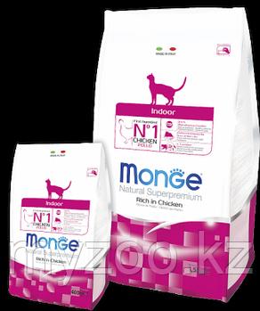 Monge Indoor, Монже корм для домашних кошек, уп. 1,5кг.