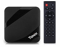 Android 7.1.2 TV смарт приставка с памятью 2GB/16GB на процессоре Amlogic S905W, модель TX3 MAX