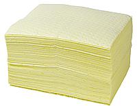Сорбирующие салфетки для ликвидации химических разливов (50cm x 40cm) Black&White