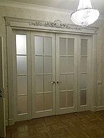 Изготовление и установка деревянных дверей