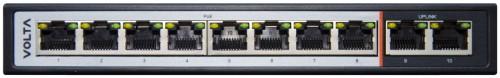 PSD110 - 8-ми портовый PoE-коммутатор.