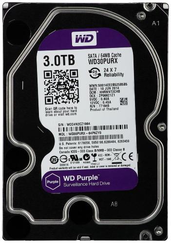WD30PURX - 3Тб Жёсткий диск Western Digital.