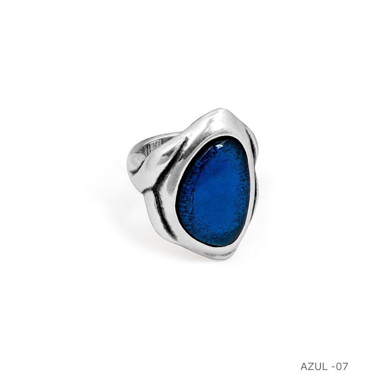 Кольцо / Botanic( 192507 - синий)размер 18,5