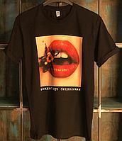 Прямая печать на футболке