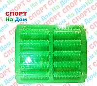 Массажер для ног счеты зубчатые (цвет зеленый)