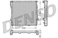 Радиатор системы охлаждения! АКПП DENSO DRM05115 BMW X5 3.0/4.4/4.6 00-03