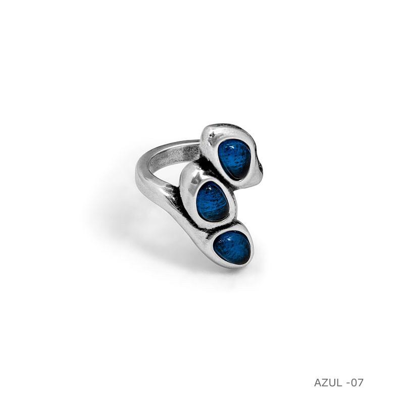 Кольцо / Botanic ( 192513 -синий)размер 18
