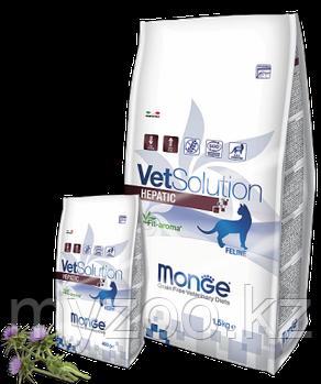 Monge Vet Solution Hepatic Cat, Монже ветеринарный корм при заболеваниях печени для взрослых кошек, уп. 1,5кг