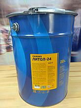 Смазка Литол-24, ведро 18 кг