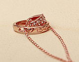 "Кулон на цепочке ""Ring Heart silver"", фото 5"
