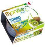 MONGE Frut Cat cans 80 гр  Кусочки для кошек тунец с киви