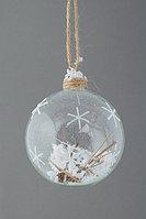 """Новогодняя елочная игрушка шар """"Метель"""", фото 1"""