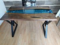 Изготовление стол река