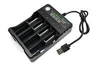 Зарядное устройство BH-042100-04U 4,2В на 4ACC, шнур Usb