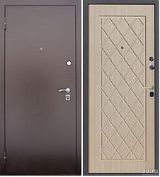 Входная дверь Алмаз Полессандр 3 контура