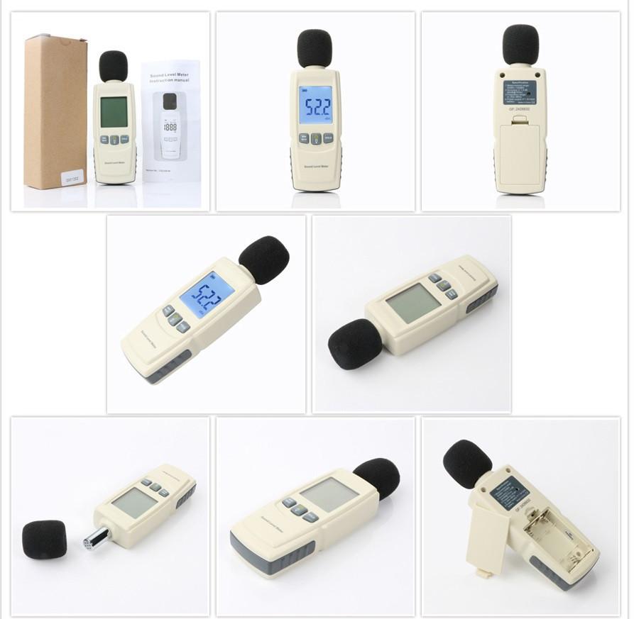 Шумомер (прибор для измерения уровня звука) - Шумомер GM1352 - фото 8