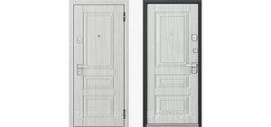 Металлическая дверь Бульдорс 45 P-1 Дуб крем