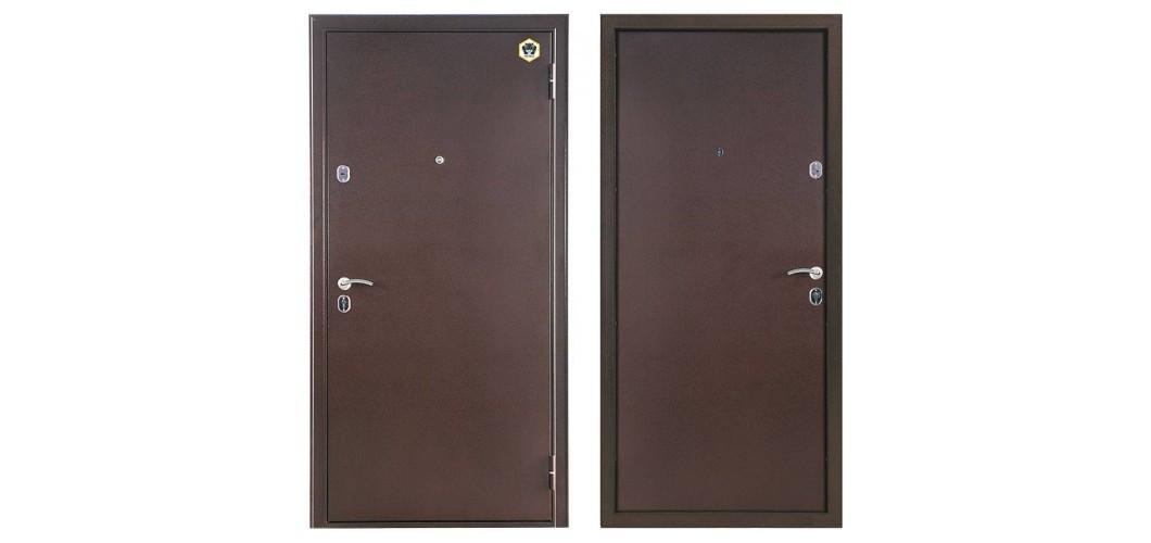 Металлическая входная дверь Бульдорс Steel 12 Венге