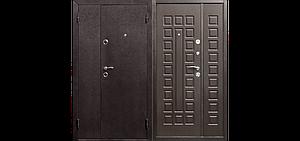 Металлическая дверь Бульдорс-120 Steel Венге