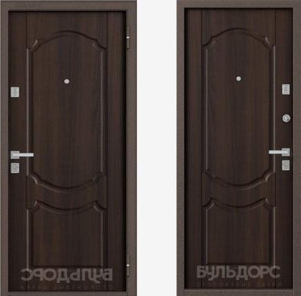 Металлическая входная дверь Бульдорс-24 Белое дерево