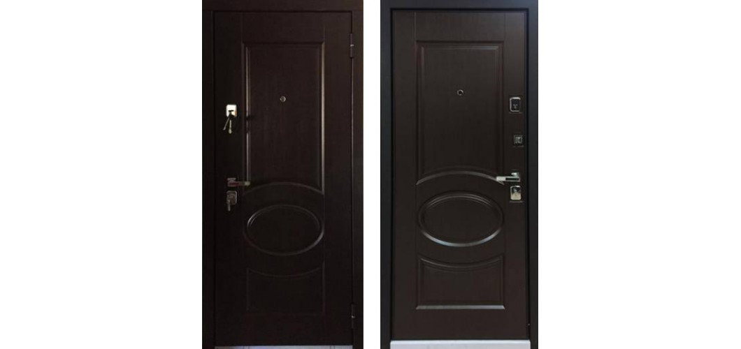 Металлическая дверь Бульдорс-25 Лиственница