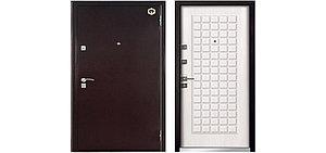 Металлическая входная дверь Бульдорс-33 Дуб беленый