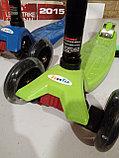 Самокат Scooter (светящиеся колеса), фото 3