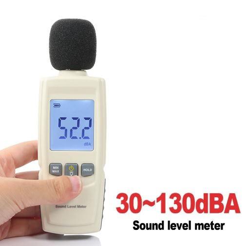 Шумомер - GM1352. (30 до 130 децибел). Карманный цифровой шумомер - фото 1
