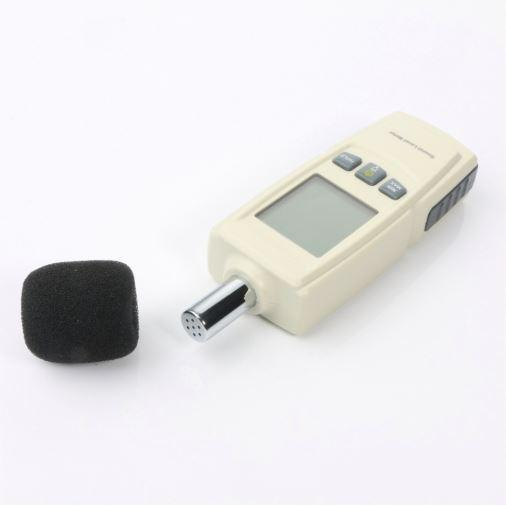 Шумомер - GM1352. (30 до 130 децибел). Карманный цифровой шумомер - фото 7