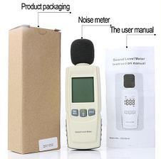 Измерительный прибор шумомер - GM1352. Измеритель уровня шума. Цифровой шумомер GM1352, фото 2