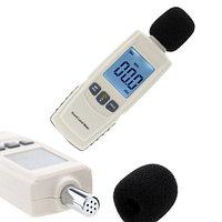 Измерительный прибор шумомер - GM1352. Измеритель уровня шума. Цифровой шумомер GM1352