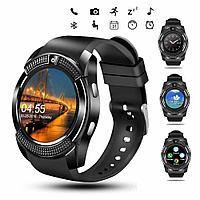 Спортивные мужские Смарт-часы  Умные часы Smart Watch V8
