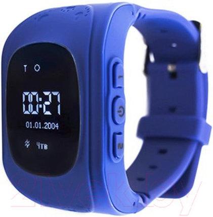 Умные часы для детей с GPS-трекером Smart Baby Watch Q50 (Синий), фото 2