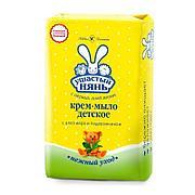 Мыло туалетное Ушастый нянь, детское , Алое 90 г., 6 шт