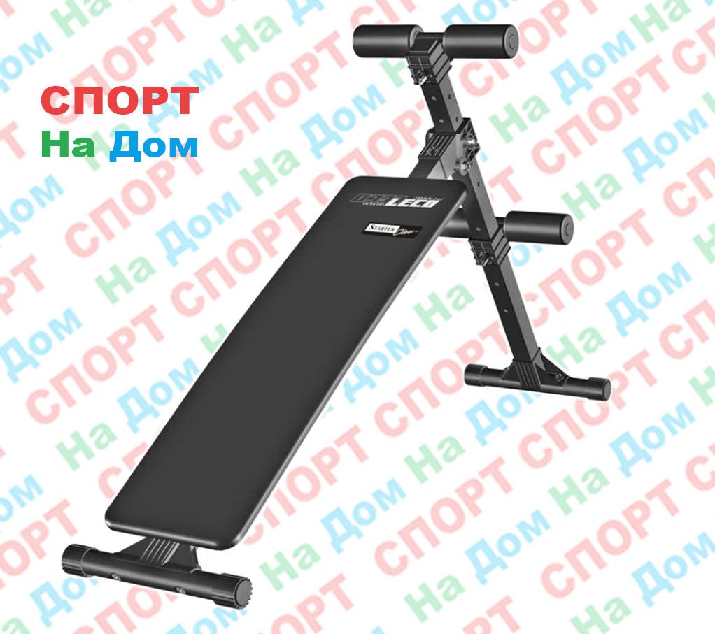 Скамья для пресса прямая Starter до 100 кг. (Россия)