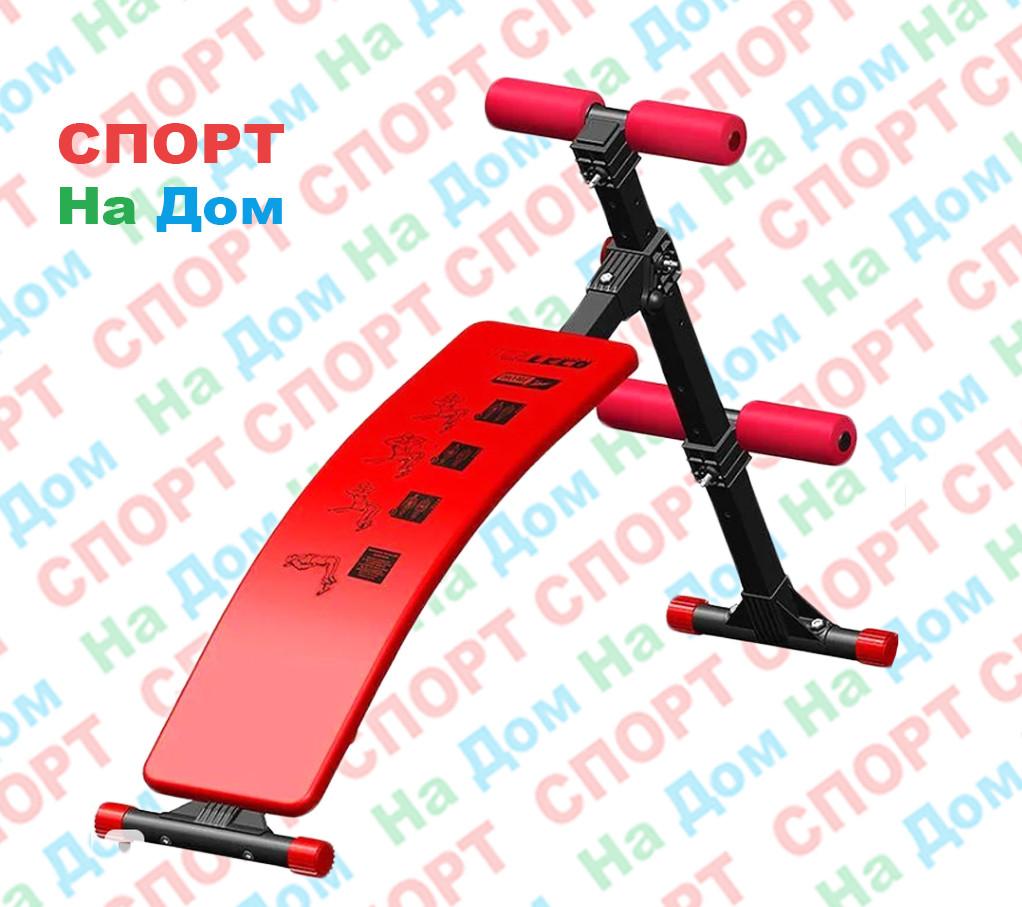 Скамья для пресса изогнутая Leco-IT Home до 120 кг. (Россия)
