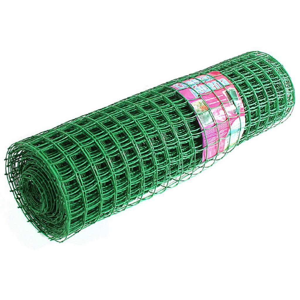 Заборная решетка в рулоне 2x25 м, ячейка 22х22 мм/ Россия