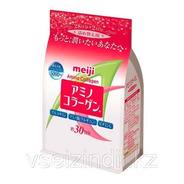 Амино Коллаген + Глюкозамин (рыбий коллаген), Meiji, 214 гр на 30 дней.