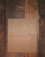 Пакет с ручками крафт