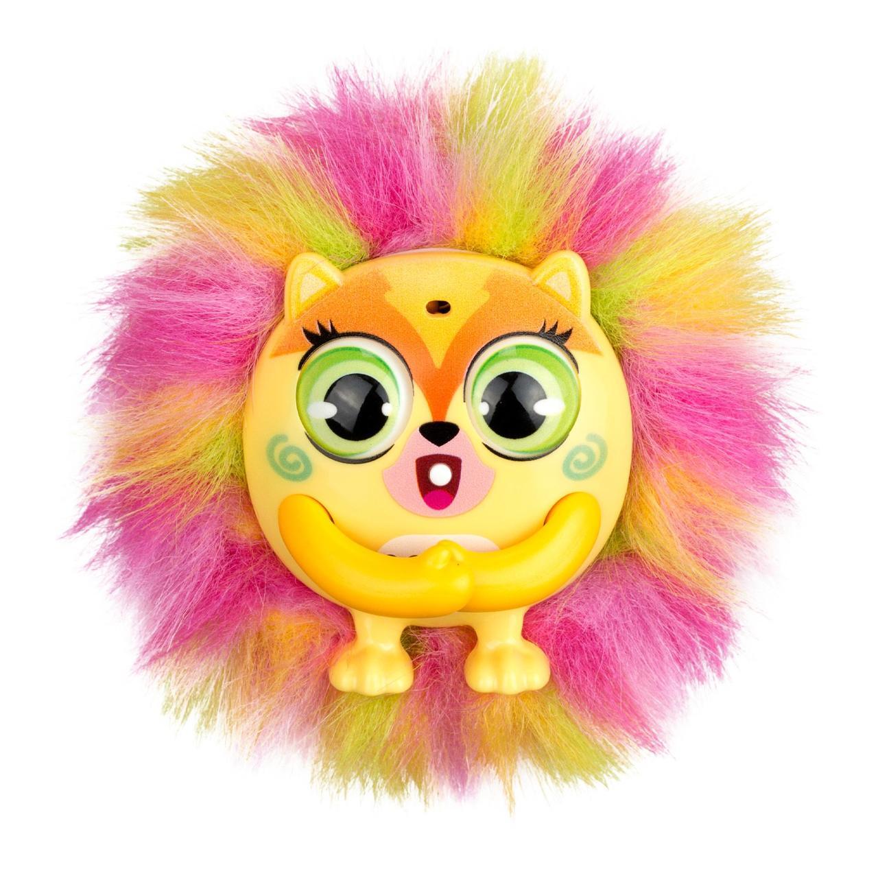"""Интерактивная игрушка Пушистик """"Tiny Furries"""" жёлтый"""