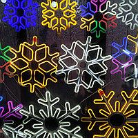 Снежинка из дюралайта S-001