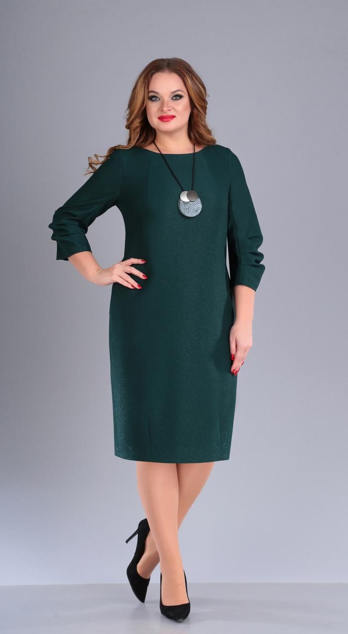 Платье Foxy Fox-40/1, зелёный, 52