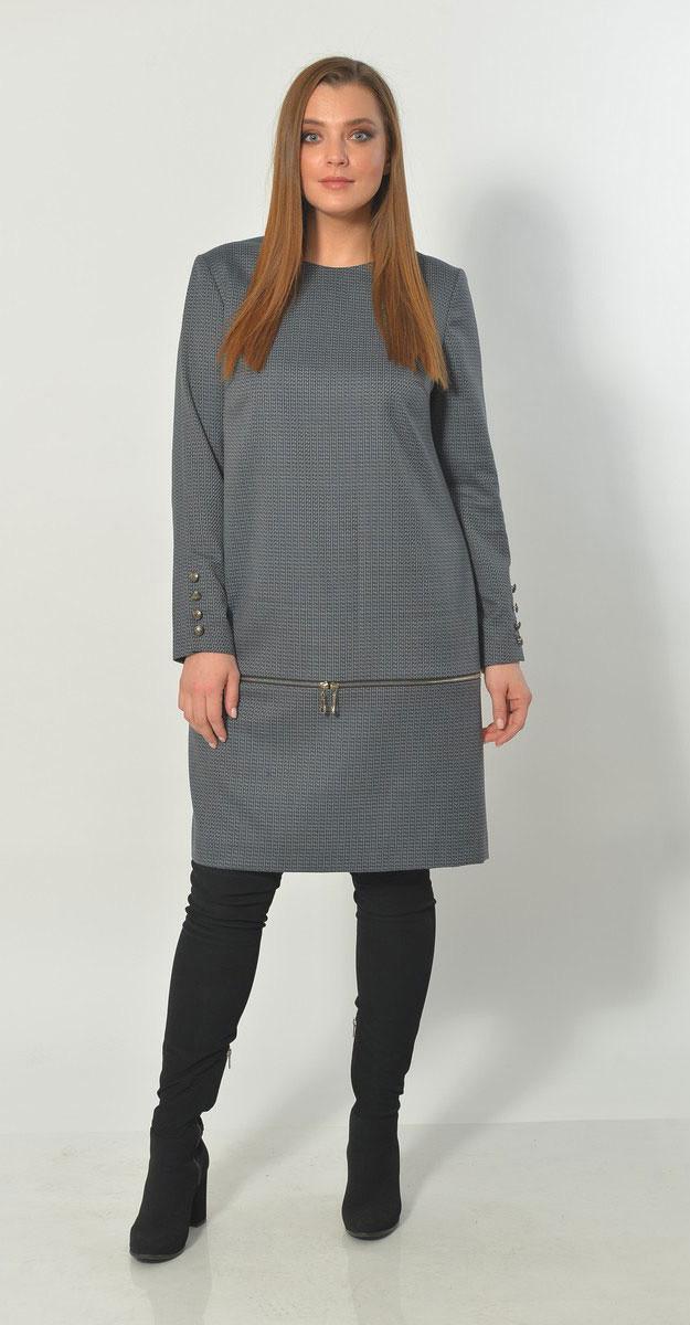 Платье Mali-4142, базальт, 54